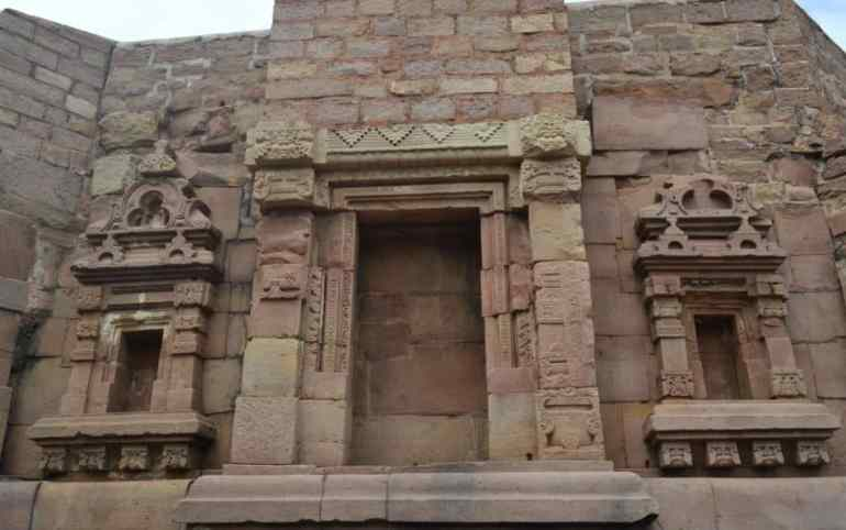 Side wall of Mundeshwari Devi Temple
