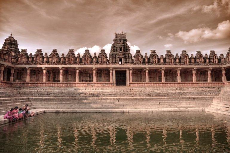 Bhoga Nandeeshwara Temple's Pushkarni