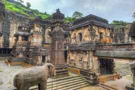 Inside Kailasa Temple