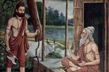 Sage Jamadagni and Parashurama
