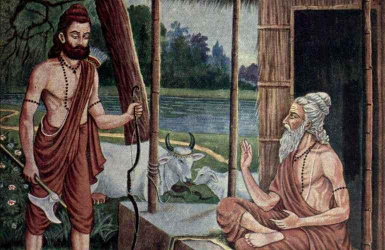 Sage Jamadagni and Parashurama