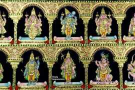 Tanjore Paintings - Dashavatar