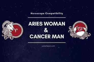 Aries Woman and Cancer Man