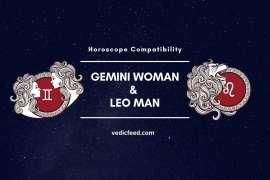 Gemini Woman and Leo Man