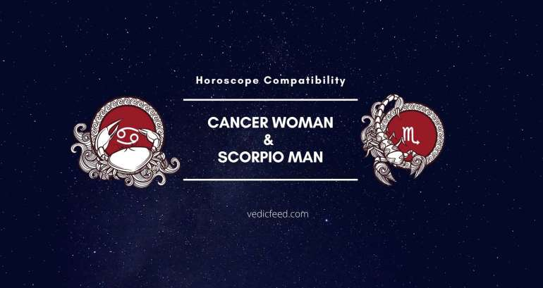 Cancer Woman and Scorpio Man compatibility