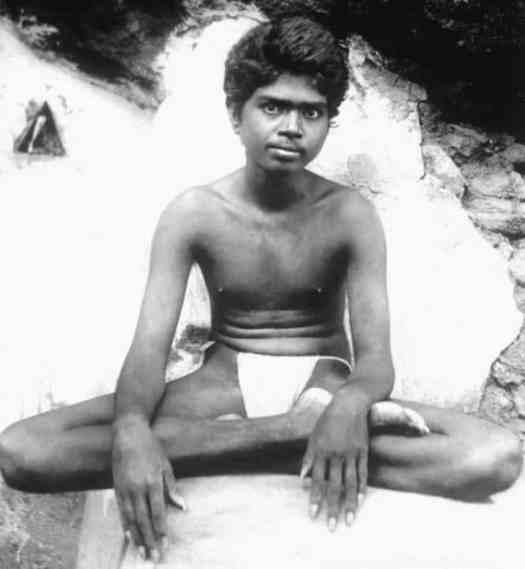 Ramana Maharshi Young