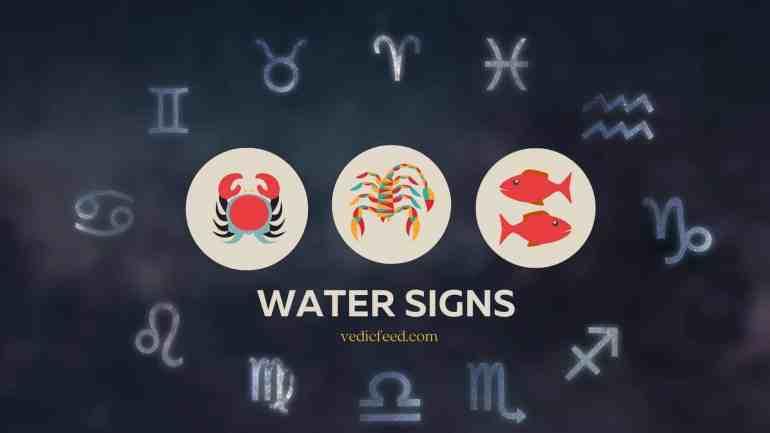 Water Signs Zodiac