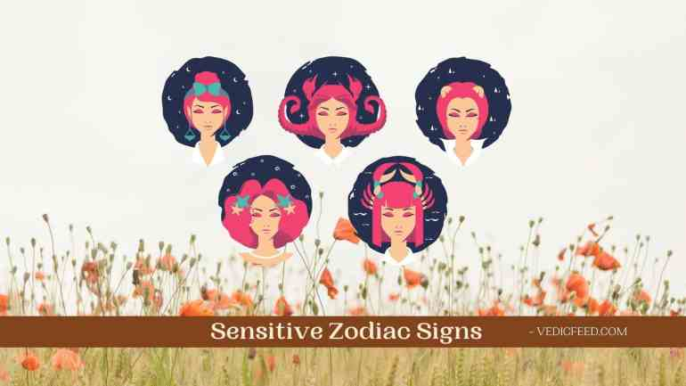 Highly Sensitive Zodiac Signs