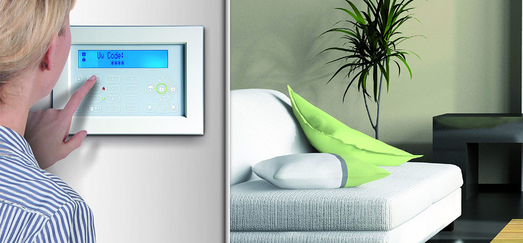 Risco Alarmsysteem luxe bedienpaneel