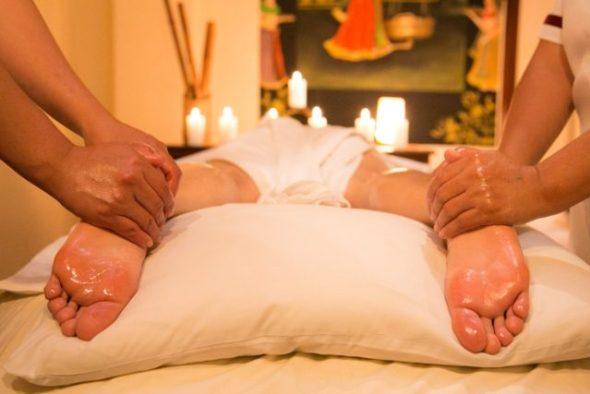 Ayurveda, oil Massage