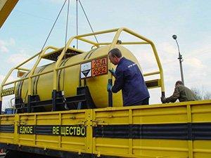 Международная доставка разных видов грузов РЖД