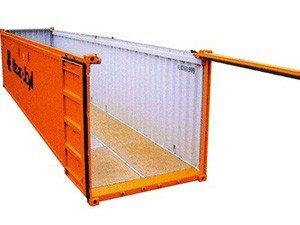 Что такое контейнер-опен-топ
