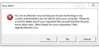 albanian virus