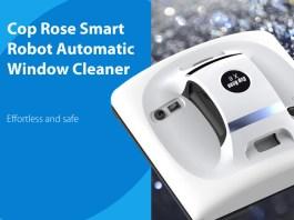 Cop Rose x6 Smart Robot Window Cleaner review