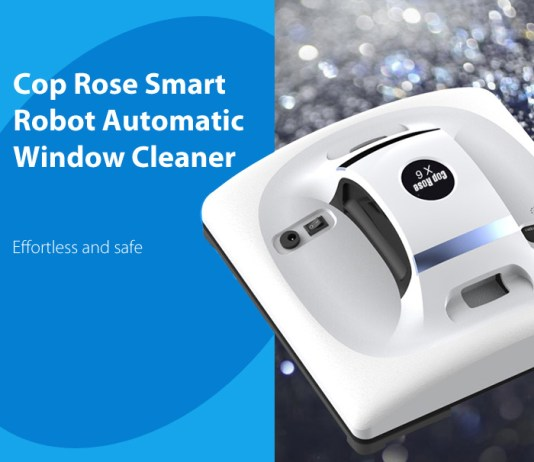 Cop Rose x6 Smart Robot Window Cleaner review