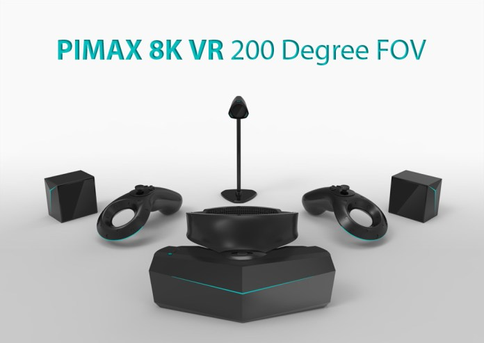 Content of the PIMAX 8K VR Box