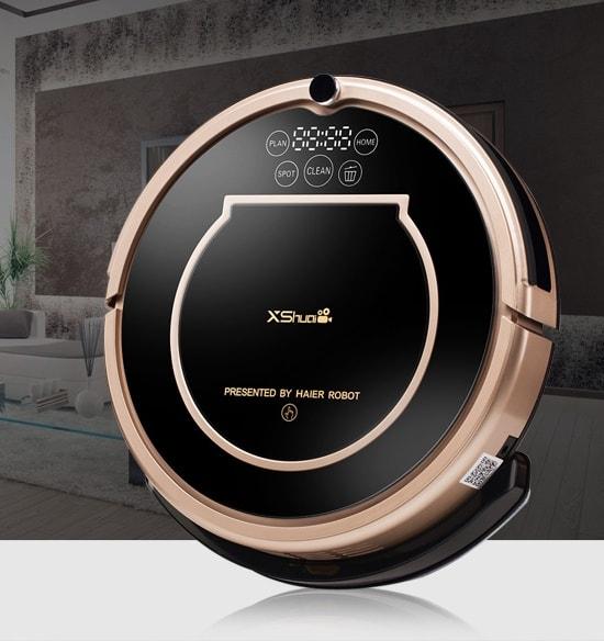 Design of Haier T370 Robot Vacuum cleaner