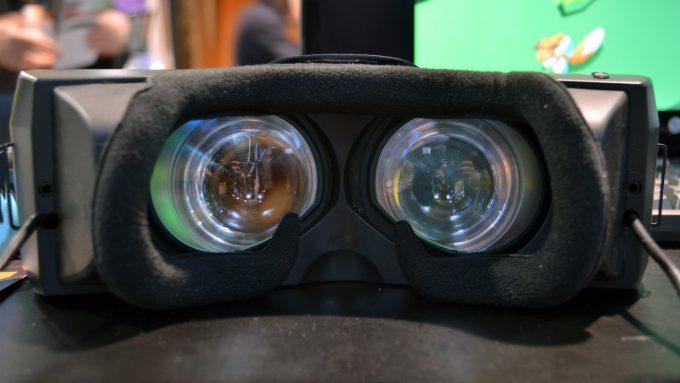 Shape of 8K 3D VR Headset