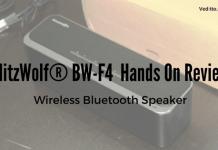 BlitzWolf®BW-F4 Review