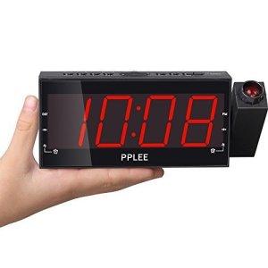 PPLEE Projection Dual Alarm Clock