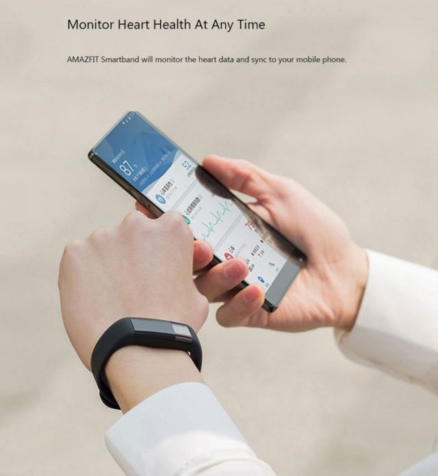 Xiaomi Huami AMAZFIT Heart Rate Review: A Smartband with ECG