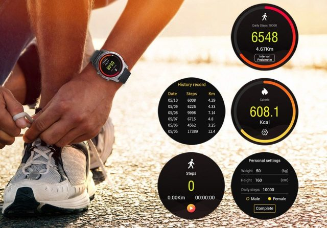 Fitness Tracker and Heart rate monitor