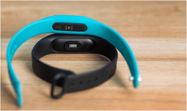 Dimensions and measurement of MI 3 Smartband