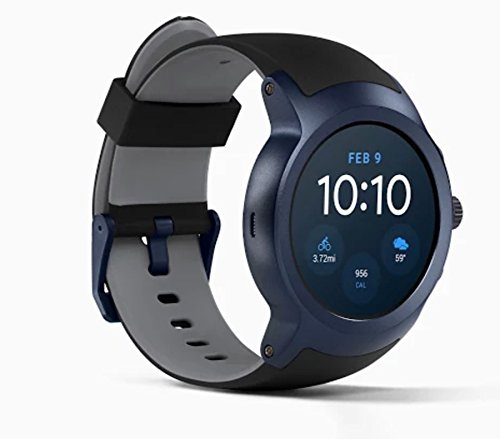 LG Watch Sport Water Resistant Smartwatch