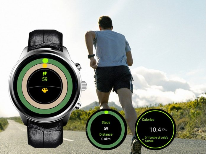 Pedometer in Finow X5 Air Smartwatch