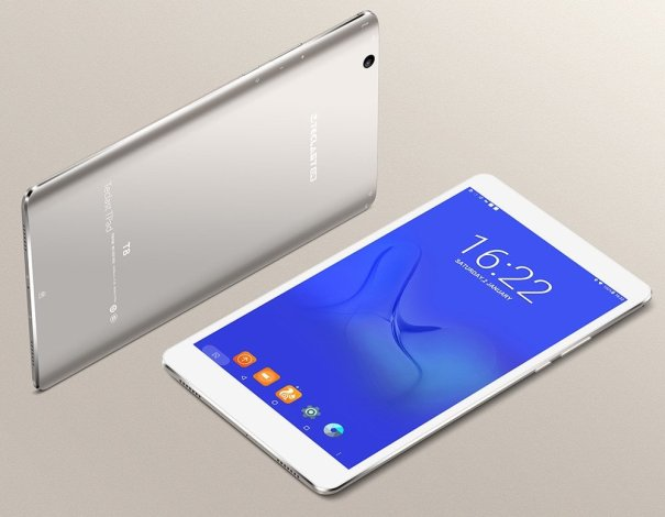 Teclast Master T8 Tablet in Metallic Silver Color