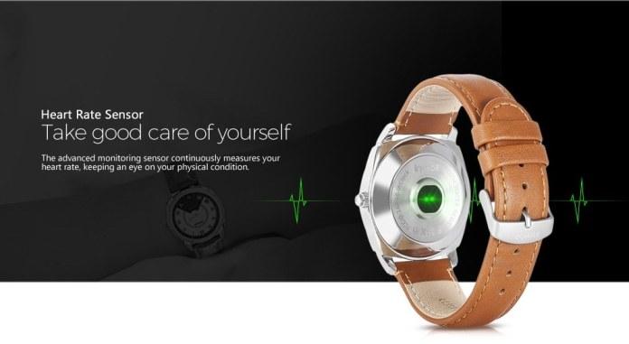 Heart Rate sensor in Inchor Inclock Smartwatch
