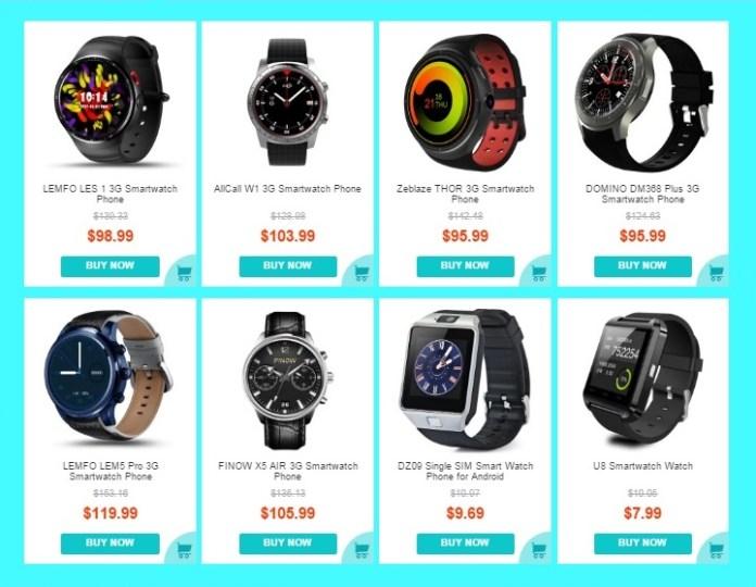 Best Smartwatches Deal in 11.11