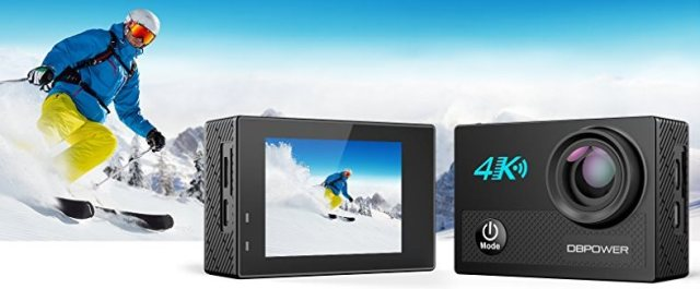 DBPOWER N5 4K Action Camera,