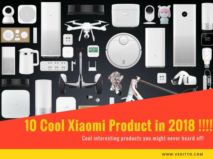 Cool Xiaomi products in 2018