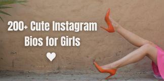 Cute Instagram Bio for Girls