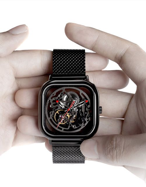 Special Hollow-Out Design in CIGA Watch