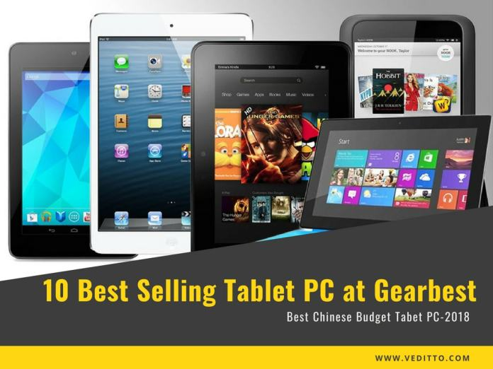 Best Selling Tablet at Gearbest
