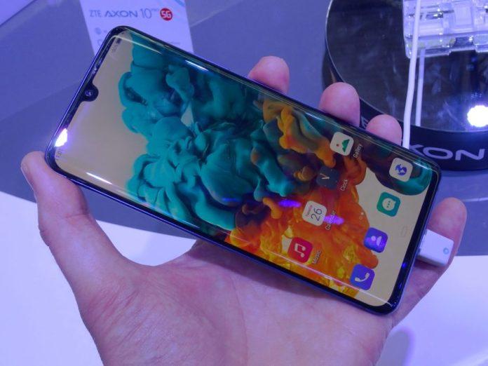 Axon 10 Pro 5G Display