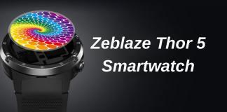 Zeblaze thor 5 Review