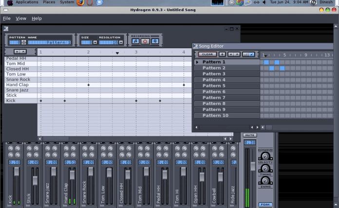 Hydrogen Music