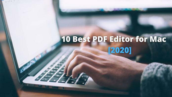 PDF Editors for Mac