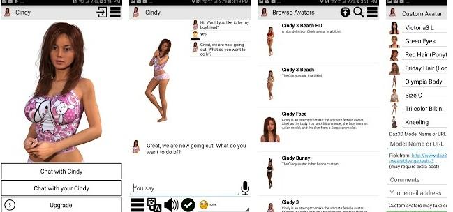 My Virtual Girlfriend Cindy