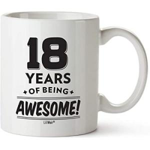18 years of being Awesome' Cup