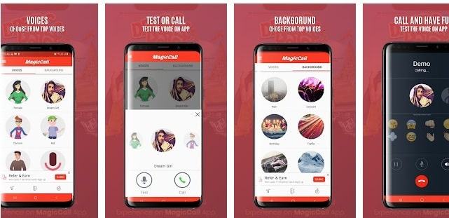 MagicCall Voice Changer App