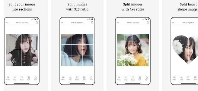 Photo Splitter App