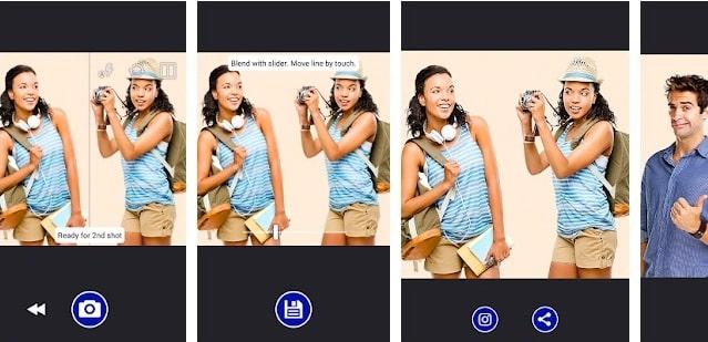 Split Camera App