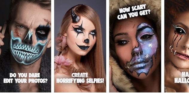 Scary photo editor