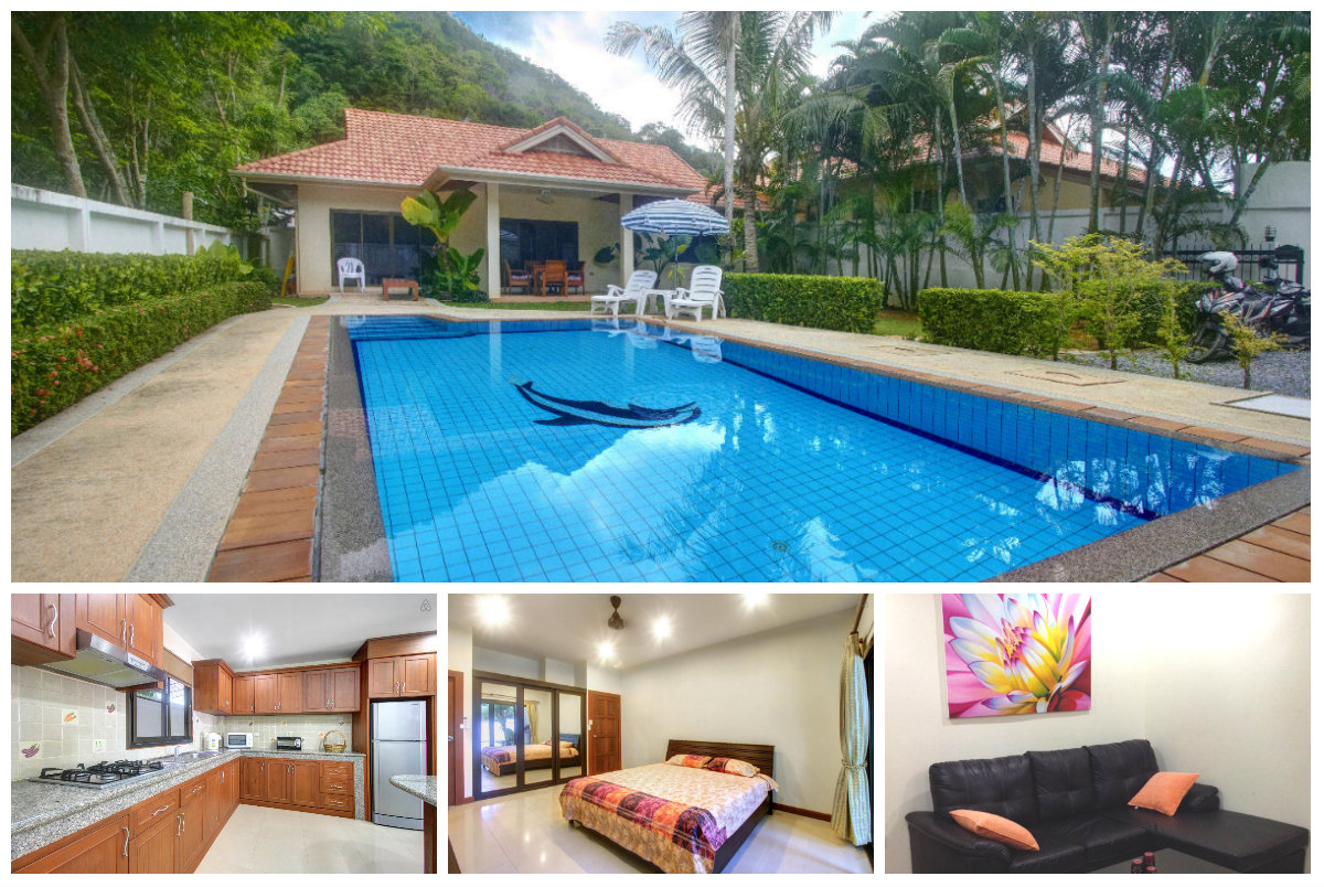 Private Pool Villa in Lush Hills for Rent in Phuket