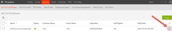 AVI Networks - Download SSL Certificate