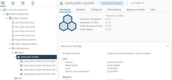 Cluster Deployed